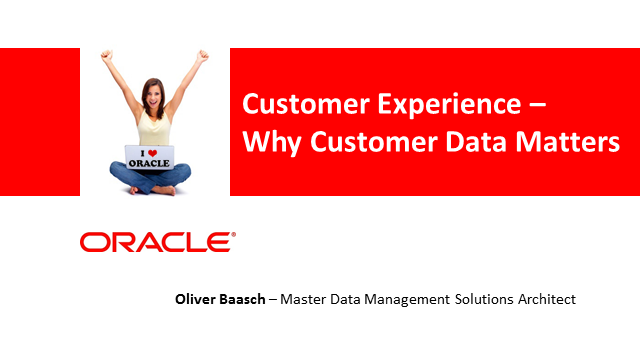 Customer Experience: Why Customer Data Matters