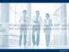 SAP Software Solutions for the Cloud
