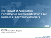 The Impact of Application Performance and Availability on your Business