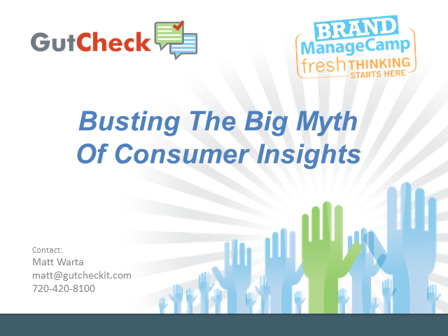 How to Get Quality Consumer Insights WITHOUT Long Timelines OR Big Budgets