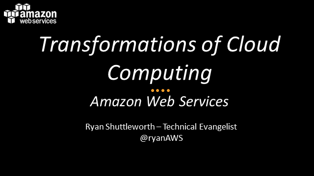 The Transformations of Cloud Computing and Common Stepping Stones into the Cloud