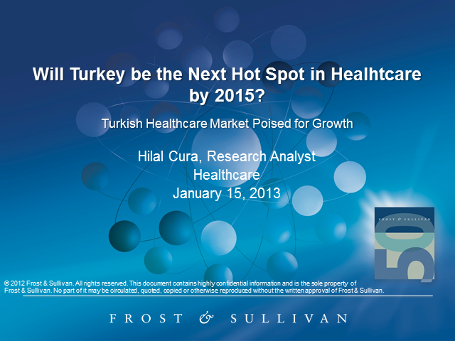 Turkish Healthcare Market Poised for Growth