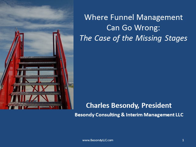 Where Funnel Management Can Go Wrong: The Case of the Missing Stages