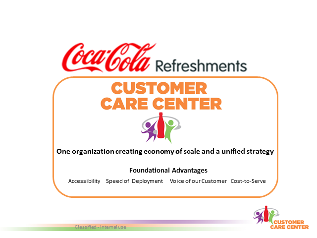 The Coca Cola Customer Care Center with Alison Anderson