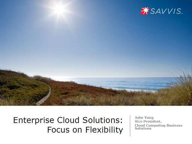 Enterprise Cloud Solutions - Focus on Flexibility