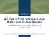Top Tips: Avoid Falling into Legal Black Holes of Cloud Security