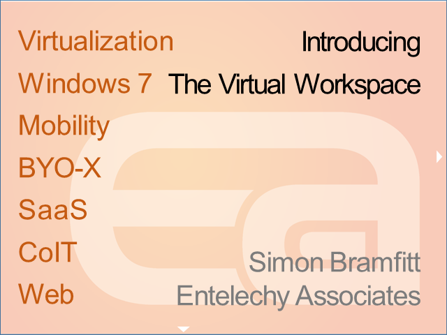 Introducing the Virtual Workspace
