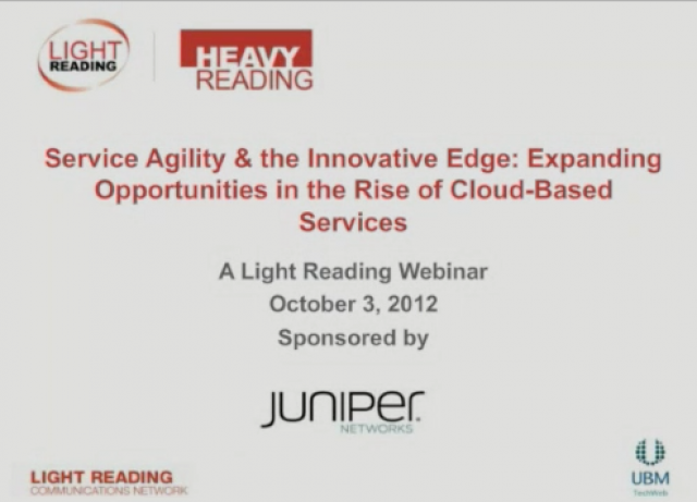 Service Agility & the Innovative Edge: Expanding Opportunities in the Rise of Cl