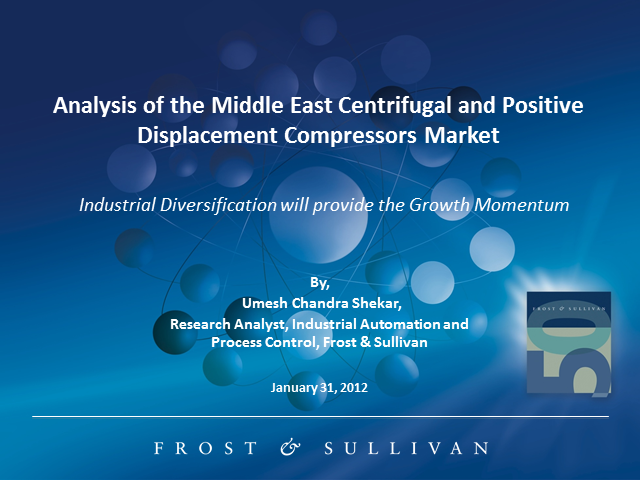 The Middle East Centrifugal and Positive Displacement Compressors Market