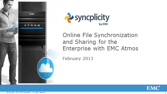 Enterprise File Sharing with Syncplicity and EMC Atmos Cloud Storage