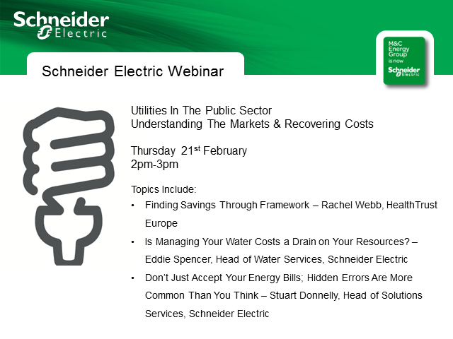 Utilities In The Public Sector – Understanding The Markets & Recovering Costs