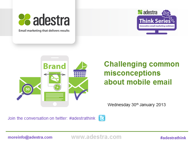 Challenging common misconceptions about mobile email