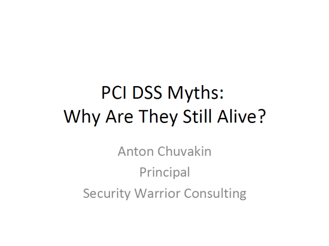 PCI DSS Myths: Why Are They Still Alive?