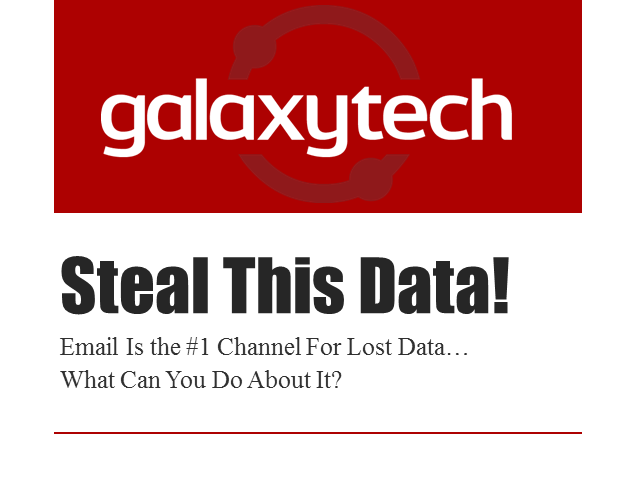 Steal This Data!