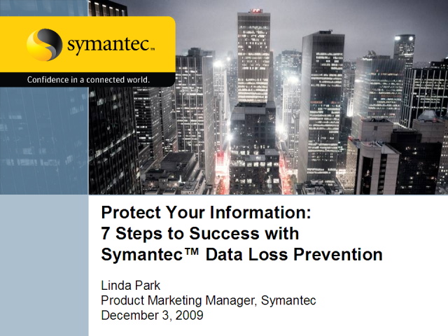 Data Loss Prevention: 7 Steps to Success