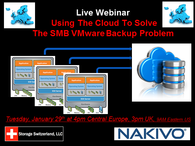 Using The Cloud To Solve The SMB VMware Backup Problem