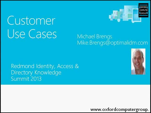 Virtual Identity Server - Customer Use Cases