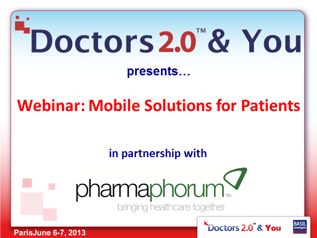 Mobile Solutions for Patients
