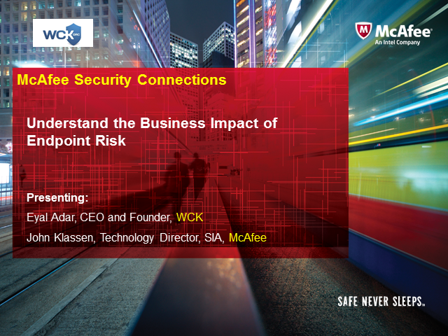 Understand the Business Impact of Endpoint Risk
