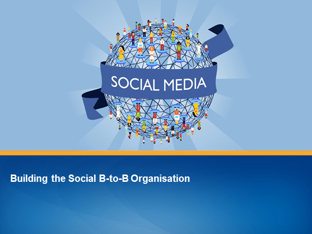 Building the Social B-to-B Organization