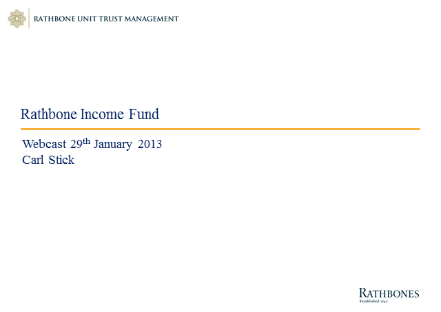 2013 - The year for UK Equity Income?