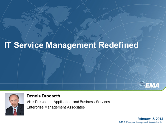 IT Service Management - Redefined