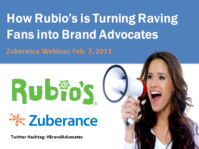 Driving Sales & Word of Mouth in Hospitality: How Rubio's Leverages Raving Fans