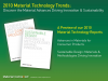Material Technology Trends Driving Innovation & Sustainability