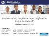 On-demand IT compliance reporting flows at Yorkshire Water IT