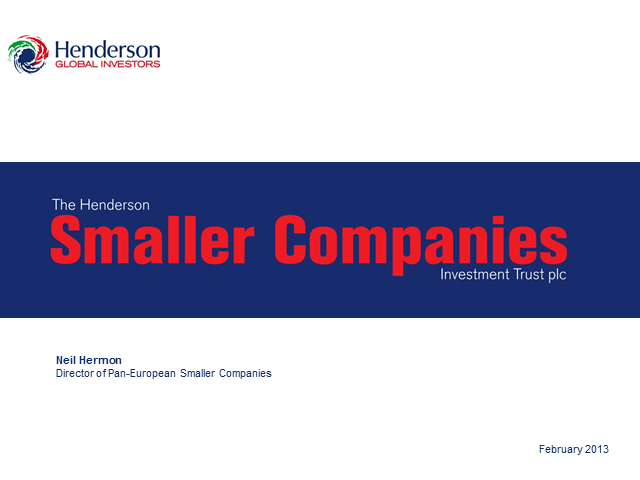The Henderson Smaller Companies Investment Trust plc