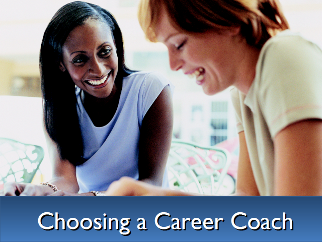 Using a career coach