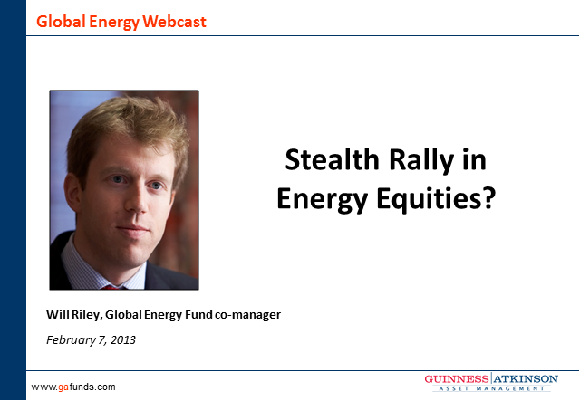 Stealth Rally in Energy Equities?