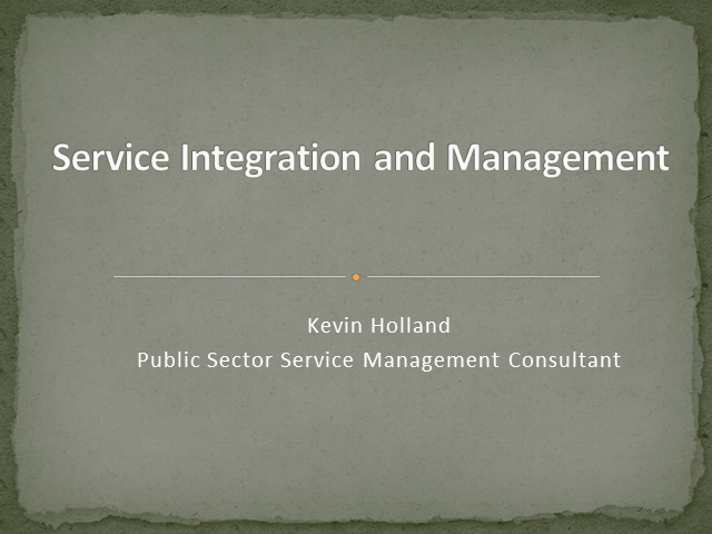 Service Integration and Management (SIAM) – the New Discipline?