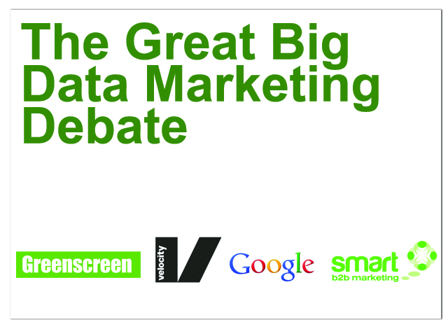 Live Video - The Great Big Data Marketing Debate