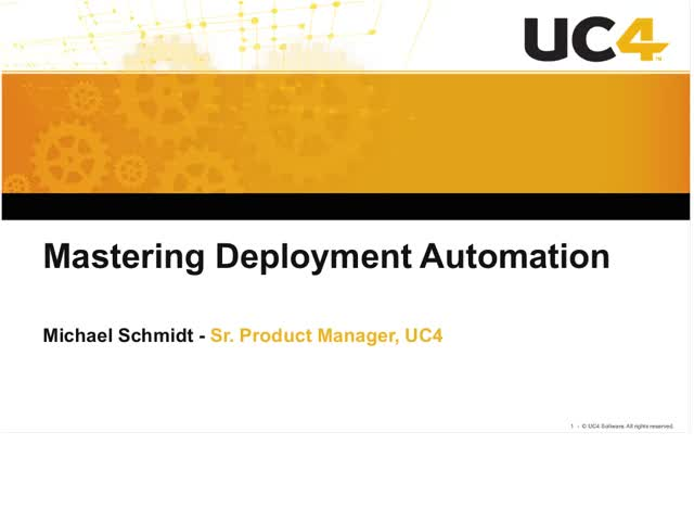 Mastering Deployment Automation