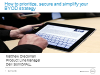 How to prioritize, secure and simplify your BYOD strategy