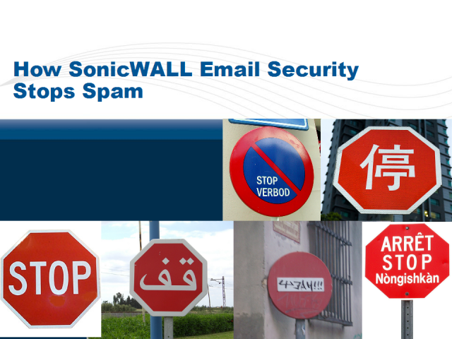 Stopping Spam with SonicWALL Email Security