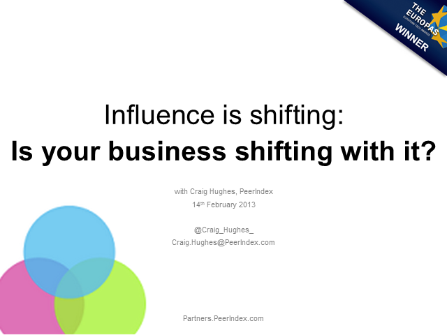 Influence is shifting: Is your business shifting with it?