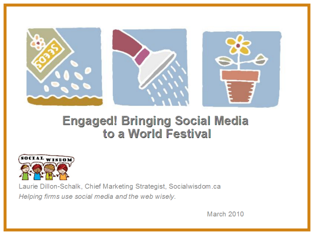 Engaging! Bringing social media to a world festival - Buskerfest!