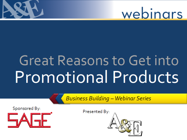 Great Reasons to Get Into Promotional Products