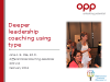 Deeper Leadership Coaching Using Type