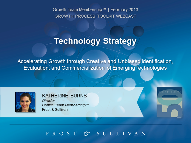 Technology Strategy: Evaluation and Commercialization of New Technologies