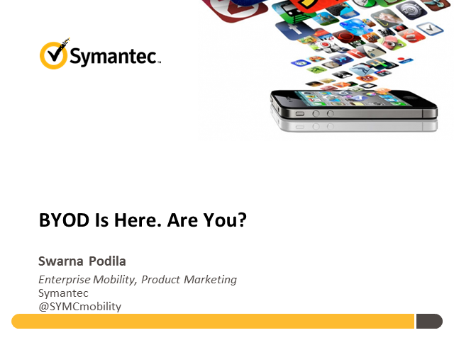 BYOD Is Here - Are You?
