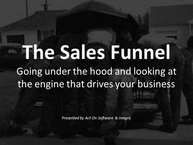 Unpacking the Sales Funnel