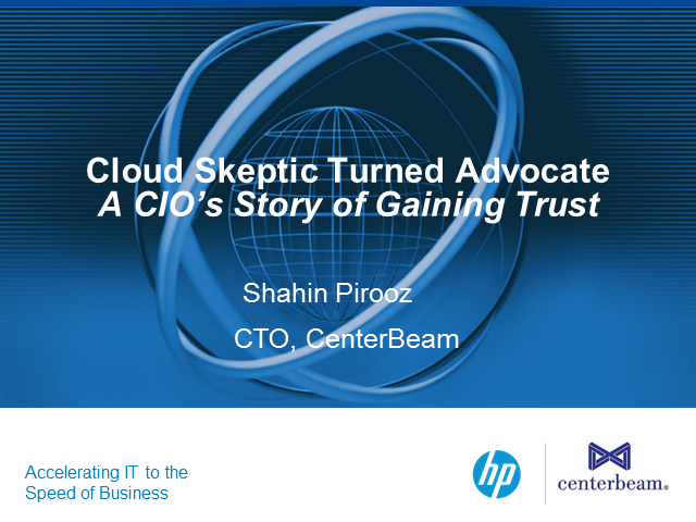 Cloud Skeptic Turned Advocate: A CIO's Story of Gaining Trust