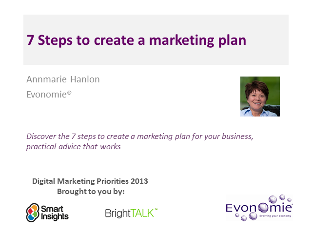 Creating the Perfect Marketing Plan