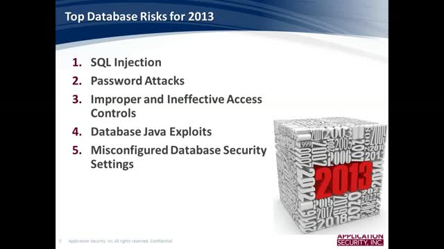 Database Security Top Tips and Threats