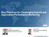 Best Practices for Converging Network and Application Performance Monitoring