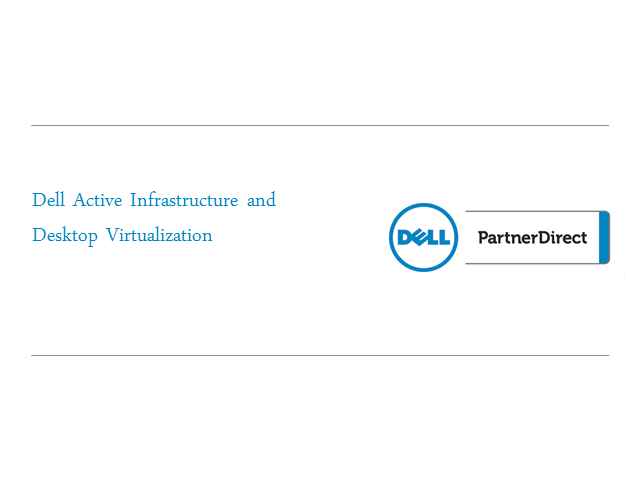 Dell Active Infrastructure & VDI Explained Webinar
