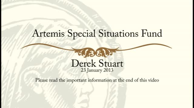 Artemis UK Special Situations - January 2013